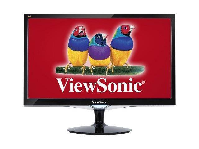 ViewSonic VX2452MHB ViewSonic VX2452MH 24-Inch LED-Lit LCD Monitor, Full HD 1080p, 2ms, 50M:1 DCR, Game Mode, HDMI/DVI/VGA, VESA