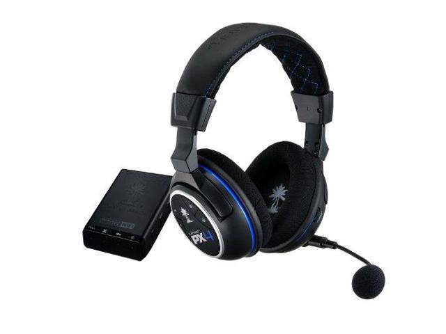 Turtle Beach Systems TBS-3276-01B Turtle Beach Ear Force PX4 Wireless Dolby 5.1 Surround Sound PlayStation 4 Gaming Headset (TBS-3276-01)