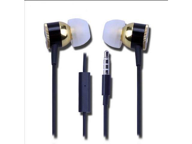 In-ear Headset headphones In-Ear Earphone in ear headphones Double-shielded low-noise cable for cell phones high quality