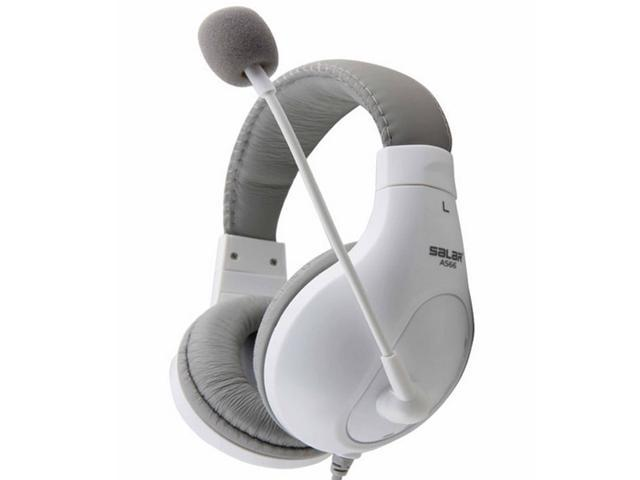 fashion headset earphones stereo headphones with microphone for computer game music