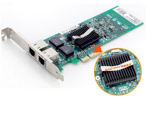 intel 82576TBLK Network Adapter 10/ 100/ 1000Mbps PCI-Express 1 x RJ45