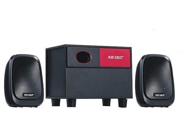 Yushchenko 20A Audio 2.1 Stereo Speaker System - Black