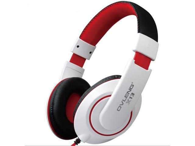 3.5mm Headphone Earphone Gaming Headset with Microphone-white