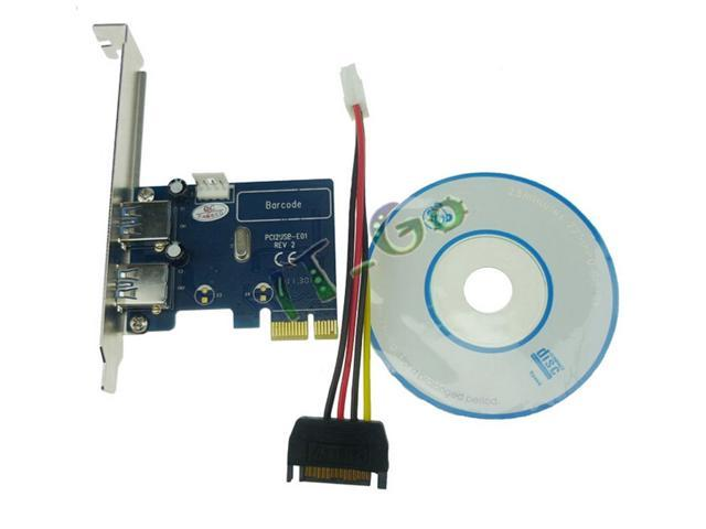 PCI express USB3.0 expansion card PCIe card PCI-e to USB3.0 adapter