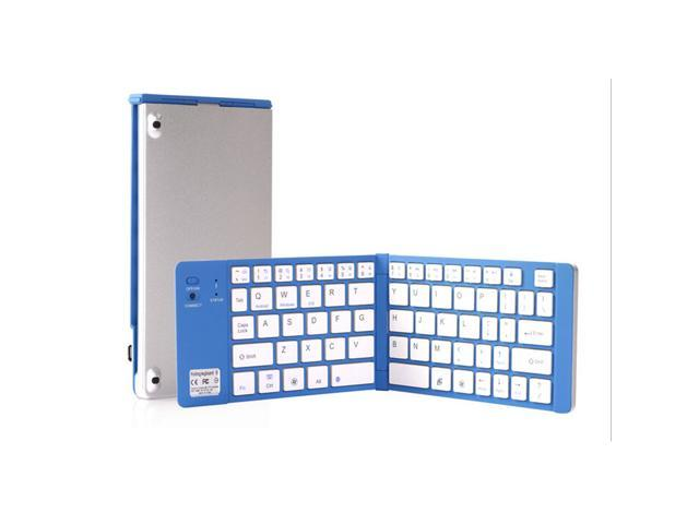 Bluetooth 3.0 TRIPLE Folding Wireless Keyboard For iPhone iPad Android Laptop Smartphone