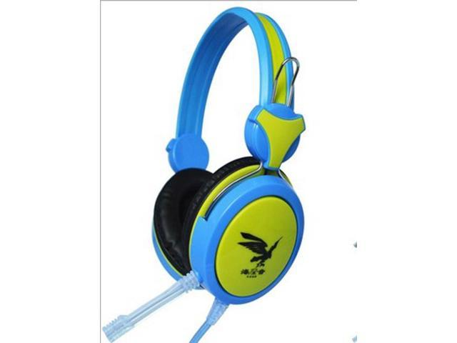 Gaming Headset Stereo Headphone Powerful Bass Earphone with Mic