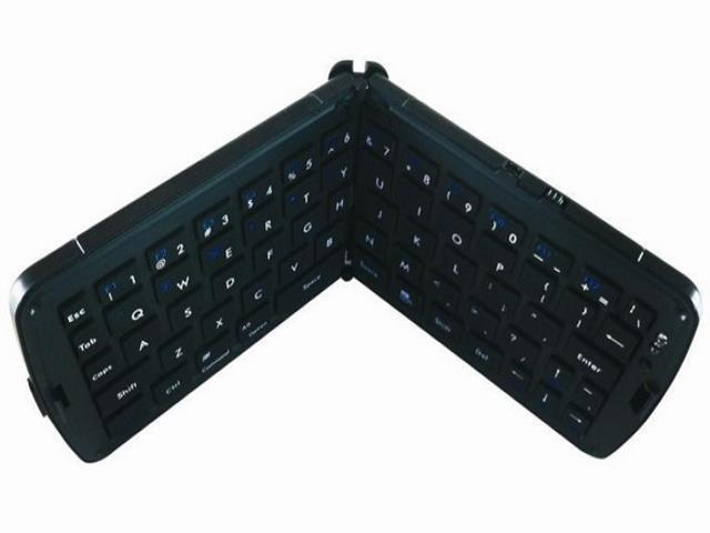 Portable Fold-Up Mini Bluetooth Wireless Keyboard IPad3 Android Tablet