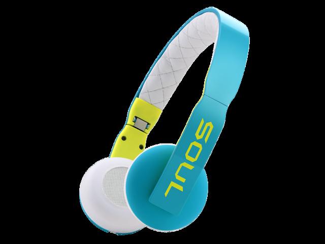 SOUL Loop Ultra Lightweight On-Ear Headphones - Blue