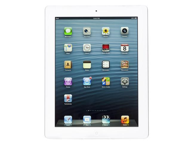 Apple iPad 2 Tablet White 32GB Wifi iOS 4 MC980LL/A