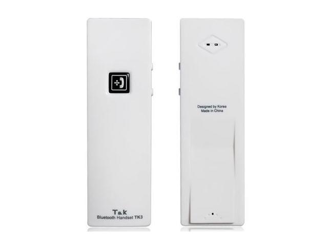 TK3 Bluetooth V2.1 Wireless Anti-radiation Headset with Microphone (White)