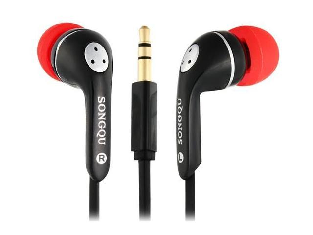 SONGQU SQ-06 3.5 mm In-ear Earphones with 1.2 m Cable (Black)