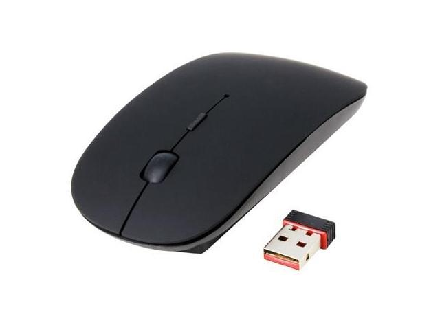 Simple Style 2.4GHz Wireless Optical Mouse Search (Black)