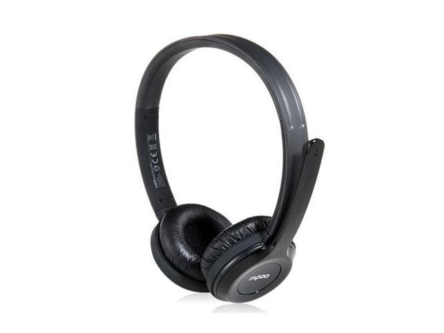 Rapoo H8030 On-ear 2.4G Wireless Stereo Headset with Microphone (Black)