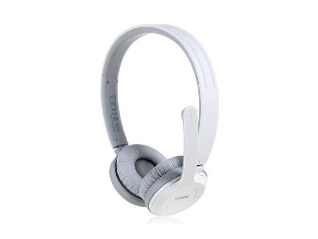 Rapoo H8030 On-ear 2.4G Wireless Stereo Headset with Microphone (White)