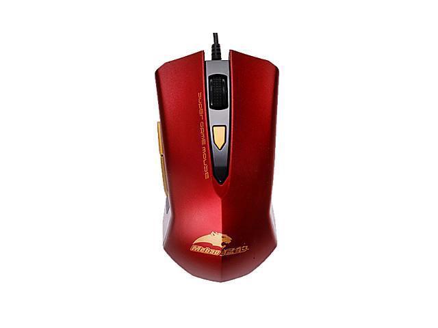 Anti-Slip 1600dpi USB 2.0 Optical Mouse , Blue