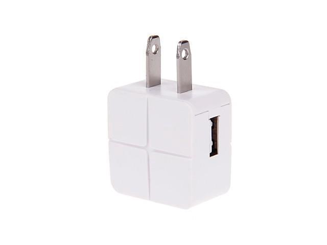 GN-41 Intelligent Moire USB AC Mains Charger US Adapter for iPhone/iPad