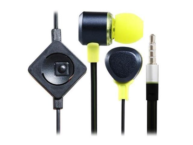 YongLo YL-E2 3.5mm Plug In-ear Stereo Headphones with Microphone & 1.2 m Cable (Green)