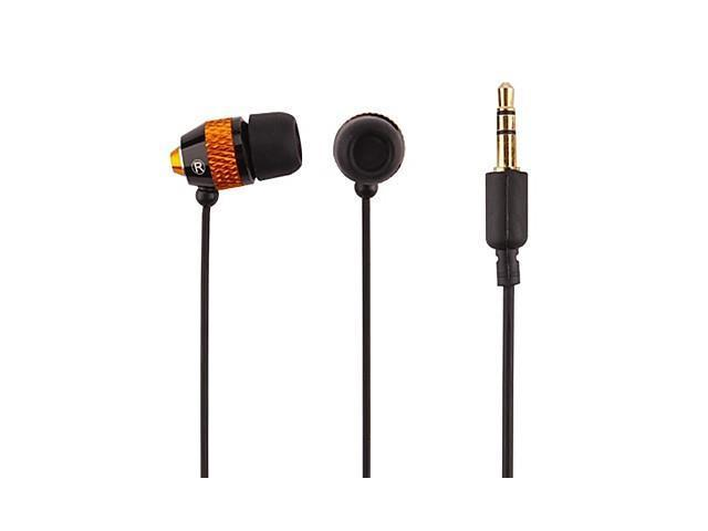 High Quality Metal In-Ear Headphones , Black