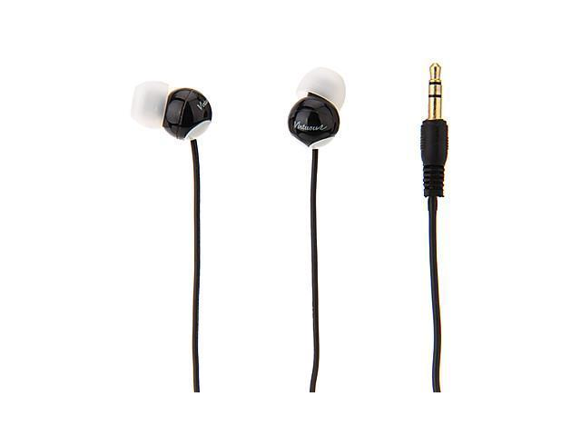 V-982A Cute Stereo In-Ear Earphones With MIC For MP3,MP4,Mobile Phone , White