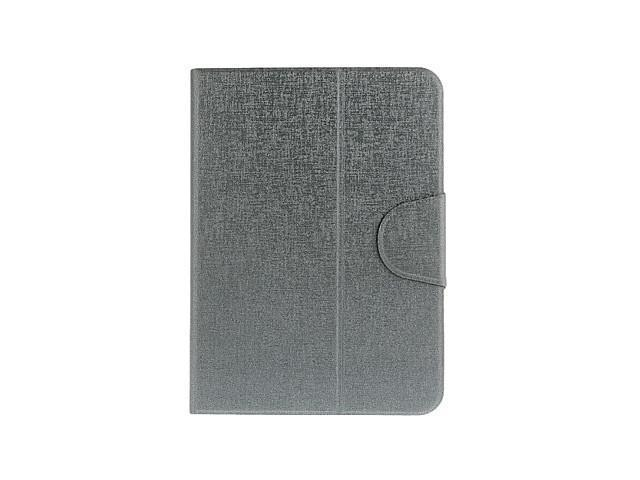 Oracle Bone Print Pattern Artificial Leather Pouches with Stand for Samsung P5200 , Gray