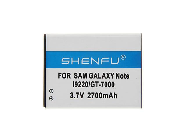 SHENFU 2700mAh Cellphone Battery for Samsung Galaxy Note I92200/GT-7000