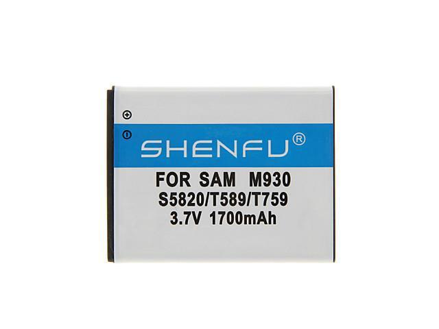 SHENFU 1700mAh Cellphone Battery for Samsung Galaxy Wi8150/T759/S5820/S5690/S8600