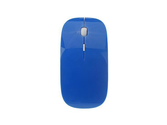 USB Wireless 2.4G Optical Mouse (Assorted Colors) , Blue