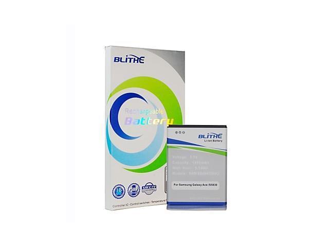 Blithe 1450mAh Battery For Samsung GALAXY ACE S5830 S5830I S7500 S5660 S5670 I569 I579
