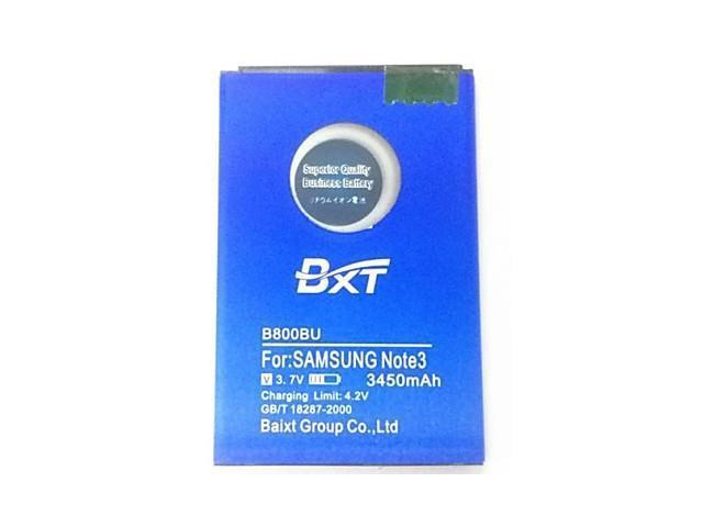 BXT 3450mAh B800BU B800BE B800BC Battery for Samsung Galaxy Note III N9000 N9005 N900A N900 N9002 Note3 Battery