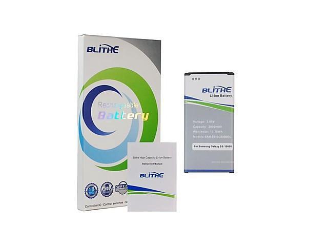 Blithe 2800mAh Battery For Samsung Galaxy S5 SV i9600 SM-G900 EB-BG900BBU[NON-NFC]