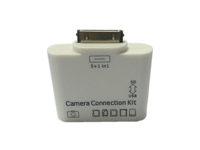 5 in1 USB Camera Connection Kit SD TF HC M2 Card Reader Adapter for iPad 1 2 3