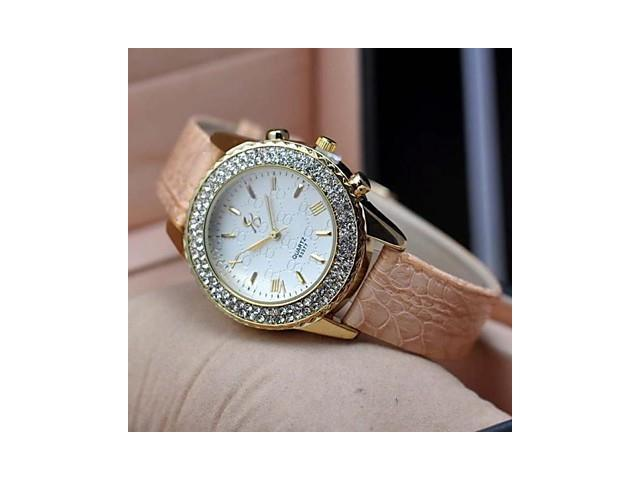 sold out Women's Fashion Leisure Double Row Diamond Watches(Assorted Colors) , Black