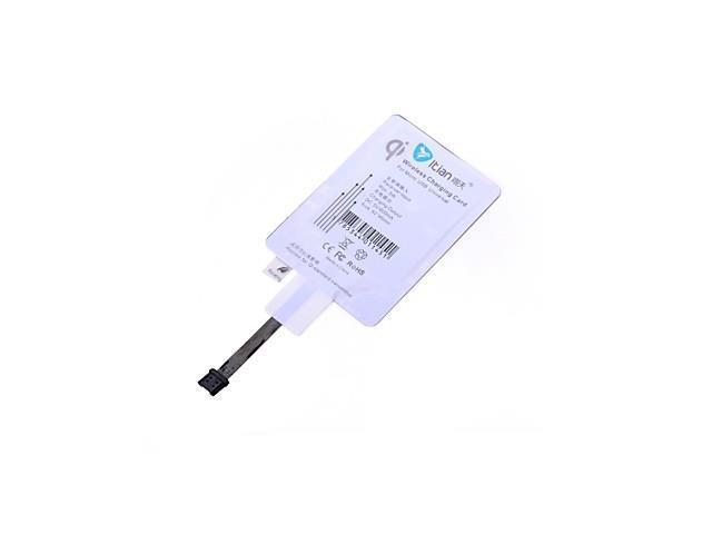 QI Standard Wireless Universal Receiver For Samsung HTC LG MICOR-USB Port (Reverse)