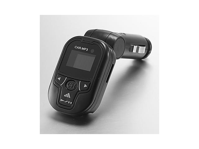 Athletic-looking Swiveling Axis In-car MP3 Player Fm Transmitter