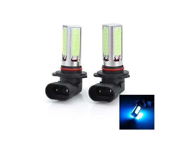 Marsing High Power 9005 20W 7500K 1500lm 4-COB LED Ice Blue Car Head Light / Foglight (12~24V / 2 PCS)