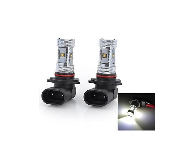 Marsing® High Power 9005 30W 2800LM 6*Osram LED 6500K White Light Car Fog / Head Light (12V / 2pcs)