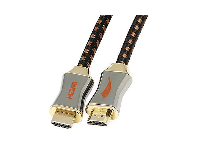 2M HDMI V1.4 3D 1080P Male to Male High Speed Cable , White