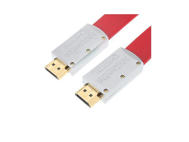 ULT_unite HDMI V1.4 M/M Cable for Support 3D for Smart LED HDTV, APPLE TV, PS3, XBOX360, Blu-ray (1.5 m)