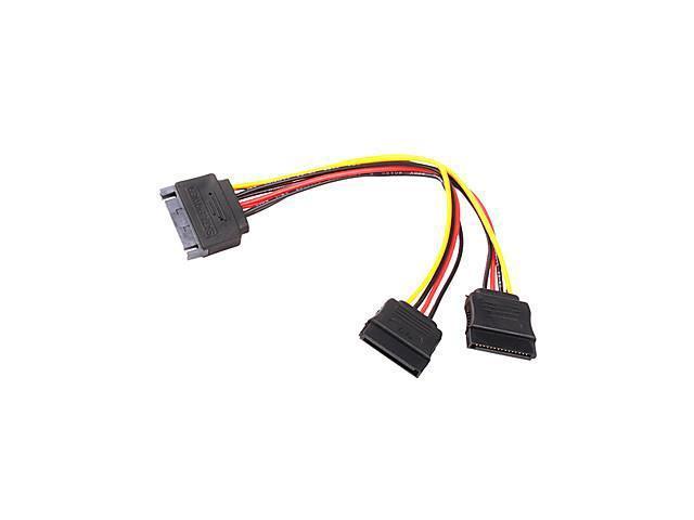 DB 15P to 2 DB 15P SATA Cable