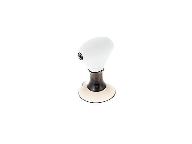 2-in-1 3.5mm Jack Earphone Stand & Splitter Adapter for iPhone/HT/Samsung (White)