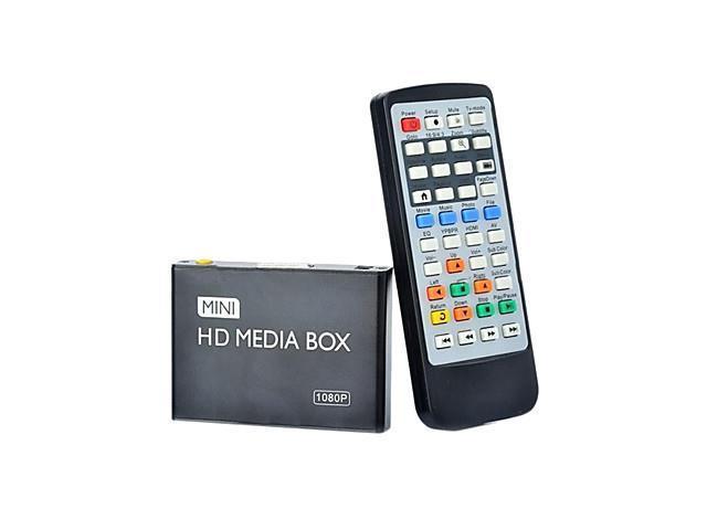 08H 1080P Multi-Media Player w/ HDMI / USB / AV - Black