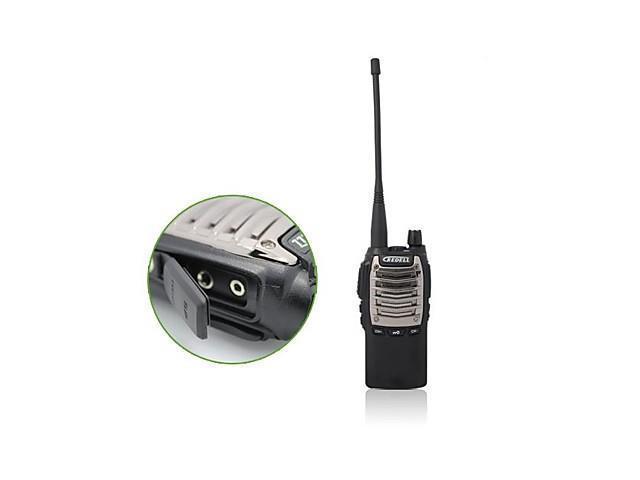 2014 Good Desigh and 6km Handheld Two Way Radio Security Guard Two Way Radio , Black