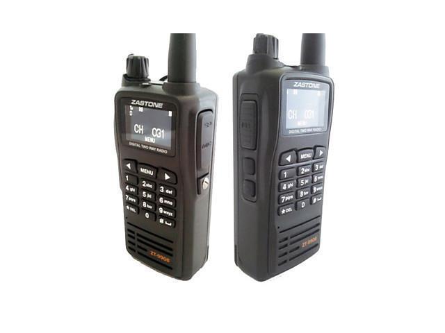 Zastone ZT-9908 DPMR Digital Standard Handheld Two Way Radio UHF430.0MHz-470.0MHz with 199 Channels , Black