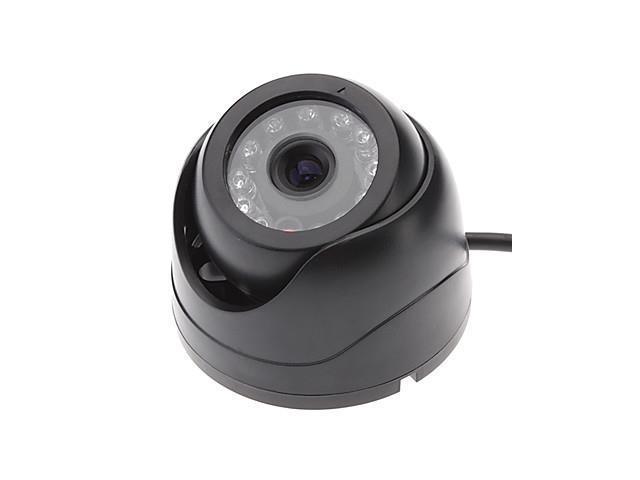Indoor Black Mini 1/4cmos 420TVL Color 12LED IR cctv Security dome Camera