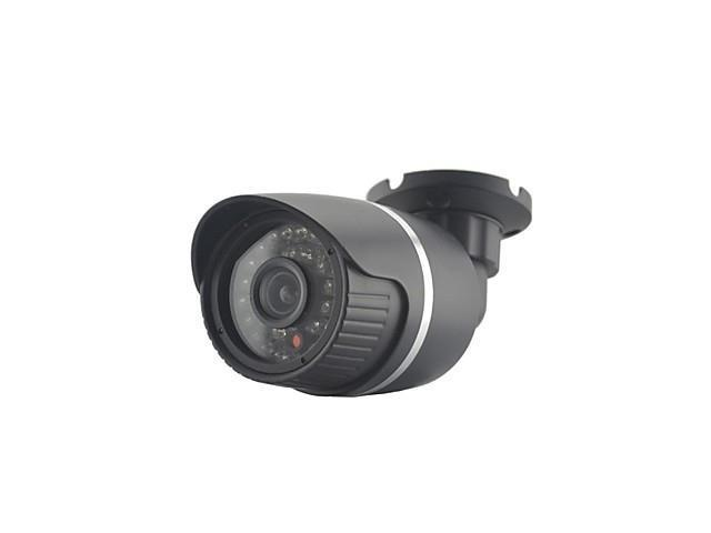 CMOS Sensor 800TVL 24pcs IR Leds Security Camera With IR-CUT Waterproof CCTV Camera With Bracket , NTSC