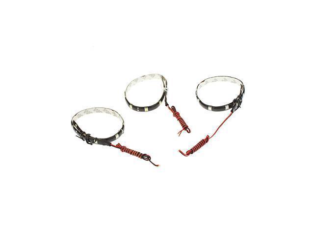 2W 30CM 12x5050SMD Flexible Blue/White/Red Light LED Strip Light (12V) , Red