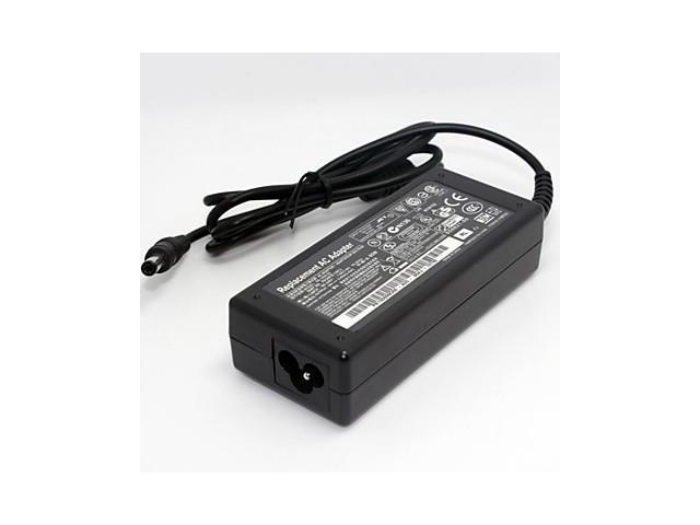 Compact Portable Laptop AC Adapter for ACER 4736 4738 3810 D725 (19V 3.42A 5.5*2.5MM)AU Plug , Black