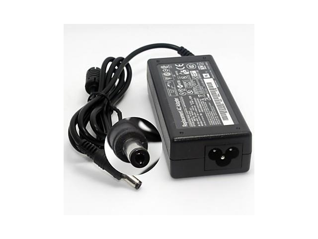 Compact Portable Laptop AC Adapter for ASUS x50 x55 A3 A8 F6 F5(19V 3.42A 5.5*2.5MM)AU Plug , Black