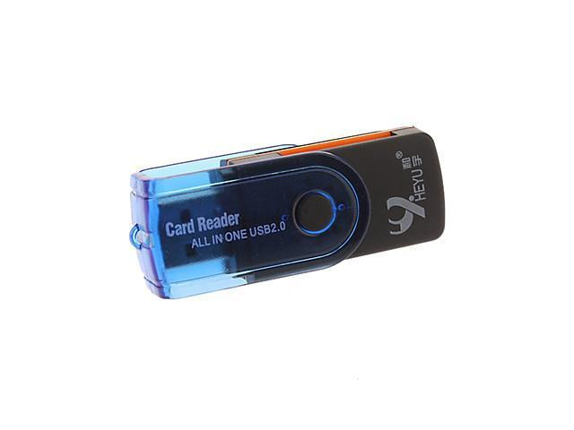 USB 2.0 SD/Micro SD/TF/M2 Card Reader