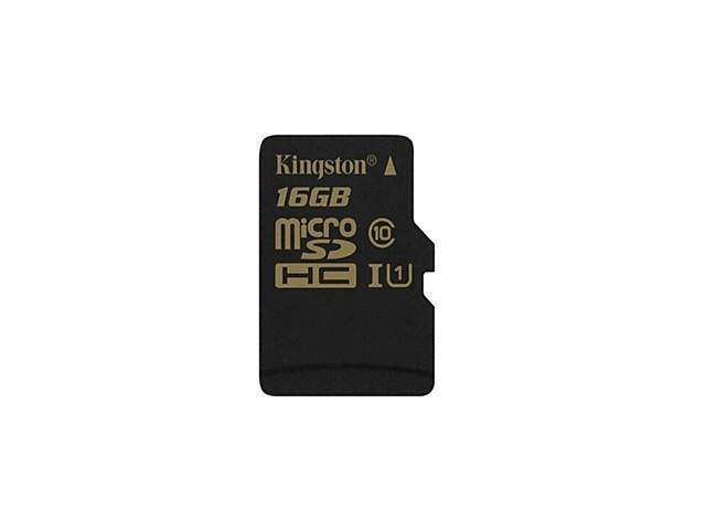 Kingston SDCA10 UHS-I Digital Micro SDXC Memory 16GB Class 10